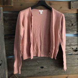H&M pink cardigan size Medium